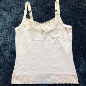 Chico's White Lace Camisole